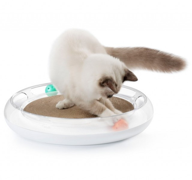 Petkit - 4in1 cat scratcher. En morsom leke for kattene