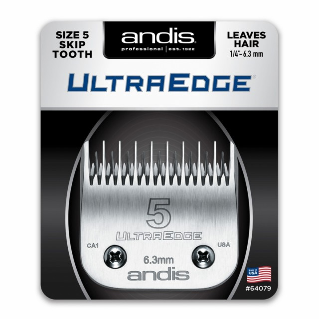 Andis UltraEdge #5 Skip Tooth (6,3mm)