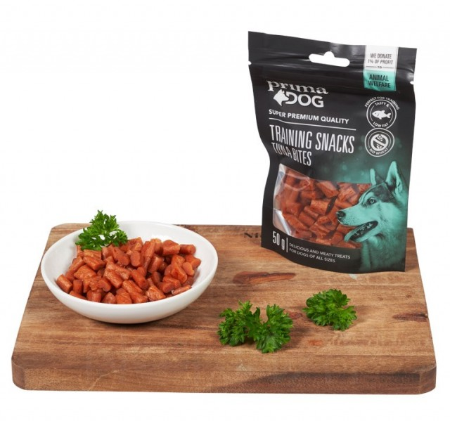 Prima Dog Training snacks - Tuna bites